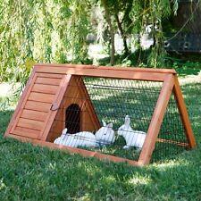 Conigliera pollaio gabbia per conigli polli ,roditori  L 110 cm