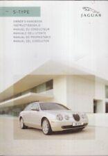 JAGUAR S-TYPE 2.7 V6 3.0 V6 4.2 V8 ORIG 2006 INSTRUCTION HANDBOOK (ITALIAN TEXT)