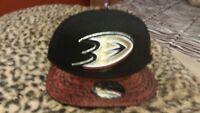 NEW ERA 9FIFTY NHL Anaheim Ducks Snapback Hat NEW
