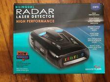Whistler Cr73 Bilingual Radar/Laser Detector