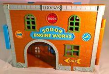2003 Thomas & Friends Sodor Engine Works/Engine Wash Take Along N Play Playset
