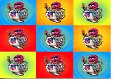 Muppet Character Animal-U.S. Snowboard Team-Sport-GoCard Modern Postcard