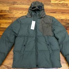 CP Company Garment Dyed 50 fili Goggle Down Jacket IT 52  L Stone Island ARMY