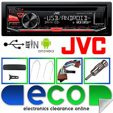 Ford Focus 98-04 JVC AUTO CD MP3 RDS USB AUX STEREO PLAYER e completo kit di montaggio