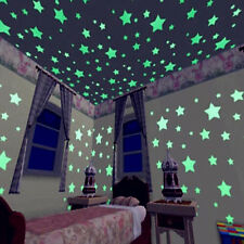 500X Glow In The Dark Stars Wall Sticker Kids Nursery Bedroom Room Ceiling Decor