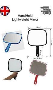 Hand Held Mirror Professional Salon Style Hand Held Vanity Mirror Makeup Tool UK