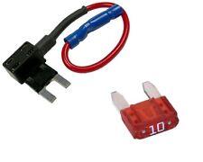 Mini ATM FUSE PLUG Add a circuit Fuse Block Extension for ATM Mini Fuse+10A Fuse