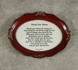 2001 Janyce C. Randall Wall Hanging Plaque