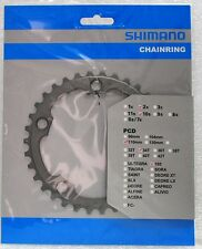 Shimano 105 FC-5750 Chainring 34T, 110mm BCD, Double, Silver