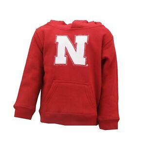 Nebraska Cornhuskers Official NCAA Infant Toddler Size Hooded Sweatshirt New