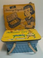 Vintage Lido Toy Doll Nursery Layette 50's Complete