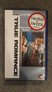 True Romance  - VHS Video Kassette