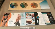 SLIM IN 6 DEBBIE SIEBERS 3 DVD BOX SET BEACHBODY FITNESS WORKOUT THIN THIGHS NEW