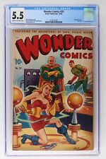 Wonder Comics #20 - Better 1948 - CGC 5.5 - Airbrushed cover. Last issue!