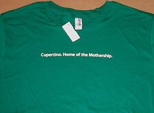 """""""Cupertino, Home of the Mothership."""" Apple Logo T-shirt by Apple - XL"""
