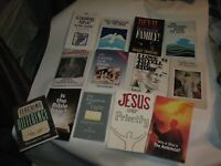 LOT OF 13 Christian/Religious Books