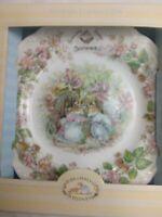 Royal Doulton Brambly Hedge Summer Salad Plate Jill Barklem Bone China England