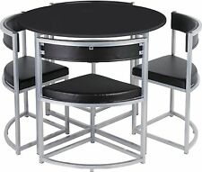 Black Table And Chair Sets