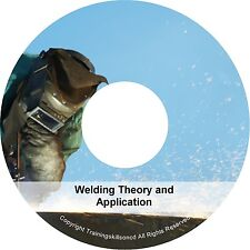 Learn Welding Welder Spot Mig Tig Arc Alloy Oxy Acetylene PDF Manuals on CD