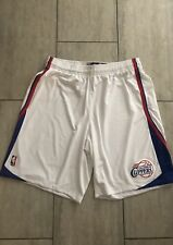 NEW! Los Angeles Clippers White ClimaCool adidas On Court Game Basketball Shorts