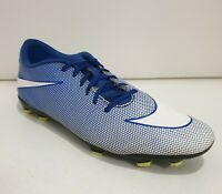 NIKE 'Bravata' Mens Football Soccer Boots Shoes Blue Size US13 UK12 844436-417