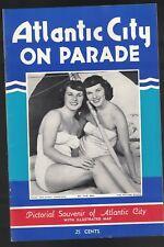 Atlantic City NJ on Parade 1950 Booklet Jerry Colonna Patricia Ruth Freeman