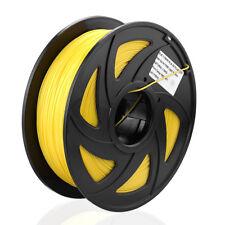 3D Drucker Composite PLA 1.75mm/1KG Printer Filament - Spule Trommel Rolle Gelb