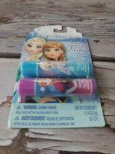 Disney Frozen Lip Gloss 2 Pack Elsa Anna Girls Princess Raspberry Blueberry Flav