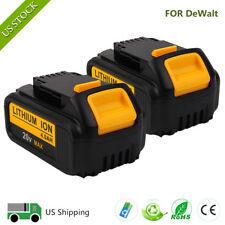 2X 20V 4Ah 4000mAh XR Lithium-Ion Battery for DeWalt DCB204 DCB204-2 DCB200