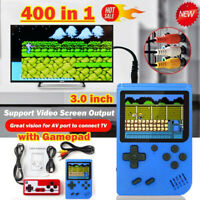 Mini Game Box Handheld Console 400 Retro Games Pocket Player Boy with Joystick