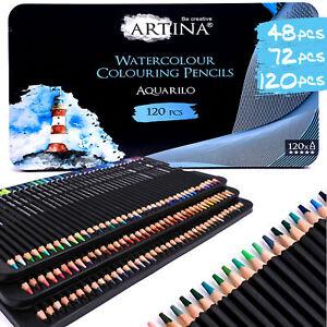 Aquarell Buntstifte Malstifte Set Farbstifte Zeichenstifte 72 Farben Zeichnen