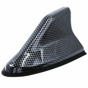 Shark Fin Roof Antenna Aerial FM/AM Radio Signal Decor Car Trim Cover Universal