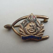 The Royal Navy Vintage Sweetheart Brooch/Badge