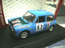 AUTOBIANCHI A112 A 112 Abarth #52 Pagani Rallye Tour de Corse 1977 Best 1:43