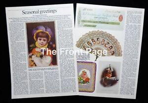 VICTORIAN CHRISTMAS / GREETINGS CARDS ILLUSTRATED ARTICLE 1976