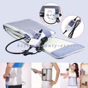 Infrared Sauna Heated Belt Fat Burning FIR Sauna Body Sliming Massager Euiqpment