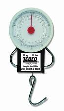 Zebco Pocket Scale - Portable Fishing Scale & Tape Measure - 1st Class Post!!