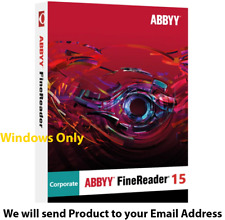 ABBYY Fine Reader Corporate 15 ✔️ lifetime activation