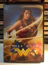 Wonder Woman DVD, DC Comics, Gail Gadot,  2 hrs bonus content Chris Pine