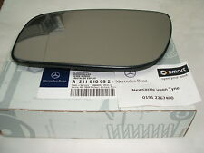 Genuine Mercedes-Benz W211 E-Class LH Mirror Glass A2118100921 NEW