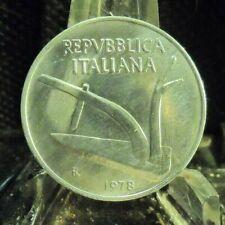 CIRCULATED 1978 10 LIRE ITALIAN  COIN (72419).....FREE DOMESTIC SHIPPING!!!!!
