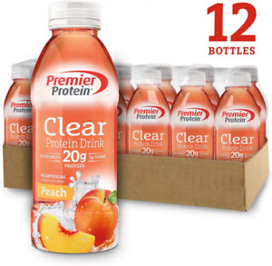 "Premier Protein Clear Drink Peach (12/16.9 Fl Oz Net Wt 202.8), Health "" Care"