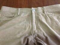 Ann Taylor Loft beige corduroy Modern Straight pants 29 8