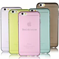 Ultra Thin Soft Clear Transparent Case Shell Back Cover for Apple iPhone 6 Plus