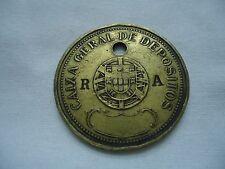 PORTUGAL PORTUGUESE CAIXA GERAL DEPOSITOS BANK TOKEN RA 647 LOOK SCANS