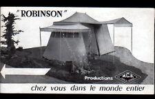 """CLICHY (92) CATALOGUE de MATERIEL DE CAMPING Robinson """"CLICHY SPORT"""" début 1960"""