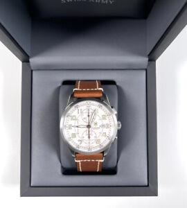 Victorinox AirBoss 241598 Automatic ETA-Valjoux 7750 Chronograph Watch NEW