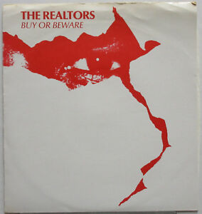 "THE REALTORS Buy Or Beware 1979 PRIVATE New Wave Santa Cruz Punk 7"" ♫HEAR!♫ 45"