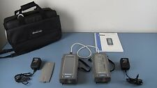 Agilent WireScope 350 Controller W. Remote Model N2600A Cable Tester W. Access.