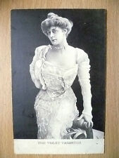 1904 Postcard- Actress MISS VIOLET VANBRUGH + Stamp
